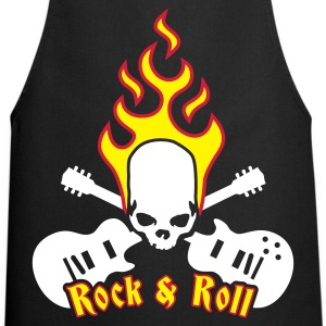 fire_skull_guitar_b_3c  Aprons - Cooking Apron