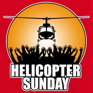 Red helicopter_sunday Kids' Shirts - Teenage T-shirt