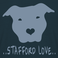 Design ~ Mens/Unisex 'Stafford Love' T-Shirt