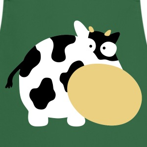 Green Moo Cow Farm Animal Farm Muhkuh Muuuh  Aprons - Cooking Apron
