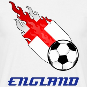 Fireball Football England - Men's T-Shirt