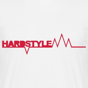 Wit Hardstyle Spikes T-shirts - Mannen T-shirt