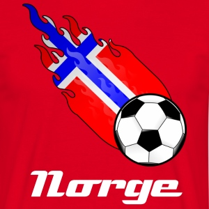 Fireball Football Norway - Men's T-Shirt