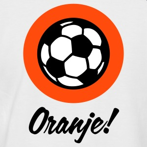 White/navy Oranje Football Circles 1 (3c) Men's T-Shirts - Men's Baseball T-Shirt