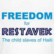 Motiv ~ T-Shirt Frau Restavek Freedom 01 © by kally ART®