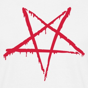 Bloody Pentagram - T-skjorte for menn