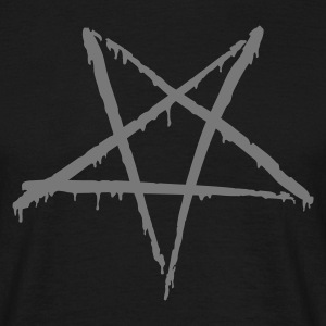 Bloody Pentagram - Mannen T-shirt