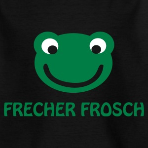 Frecher Frosch Kinder-T-Shirt - Teenager T-Shirt