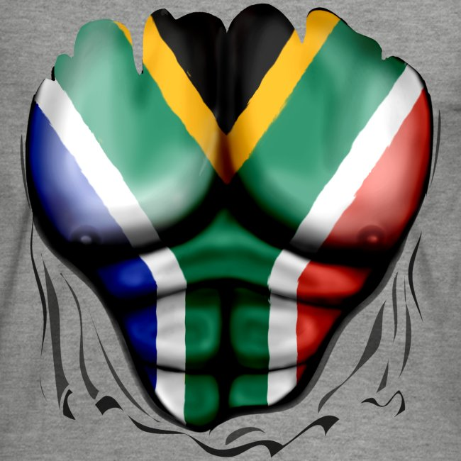 south africa  ripped muscles white