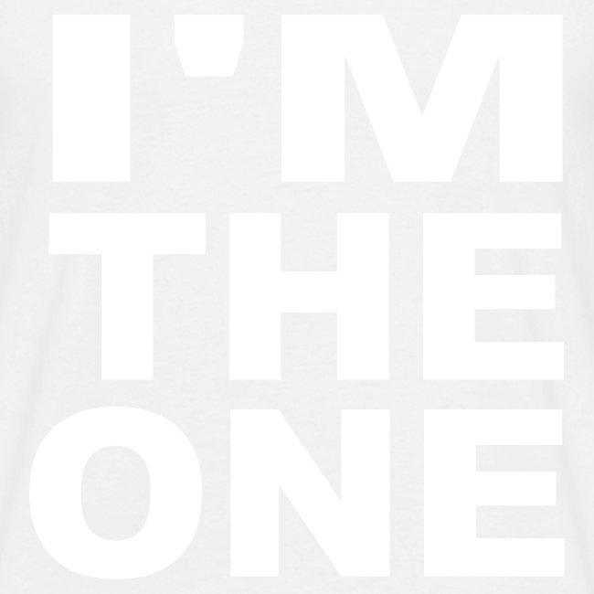 I'm the one black