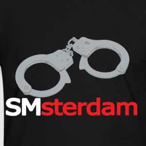 Zwart/wit smsterdam (for dark items) T-shirts - Mannen contrastshirt