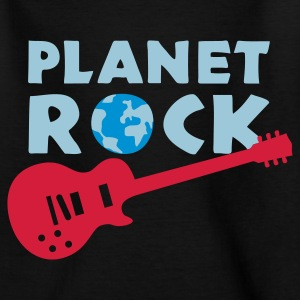 Black planet_rock_3c Kids' Shirts - Teenage T-shirt