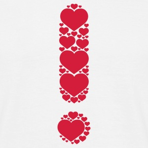 Weiß It is Love © T-Shirts - Männer T-Shirt