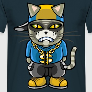 gangsta chat - T-shirt Homme