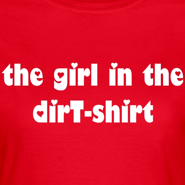 Oasis' girl in the dirty shirt