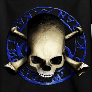 skull_and_tribal_c T-shirts - T-shirt tonåring