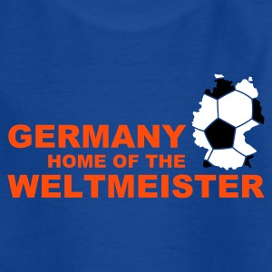 germany home of the weltmeister 2  - Teenage T-shirt