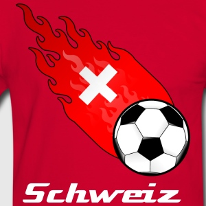 Fireball Football Switzerland - Men's Ringer Shirt