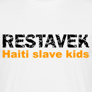 Motiv ~ T-Shirt Mann Restavek 03 orange© by kally ART®