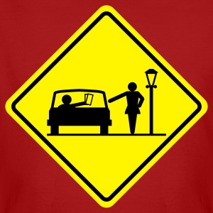 road sign Prostitution Zone - Men's Organic T-shirt