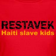 Motiv ~ T-Shirt Frau Restavek 03 orange© by kally ART®