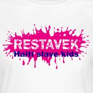 Motiv ~ Frau T-Shirt Restavek Splash 03lila pink © by kally ART®