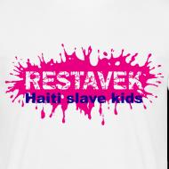 Motiv ~ Mann T-Shirt Restavek Splash 03lila pink © by kally ART®
