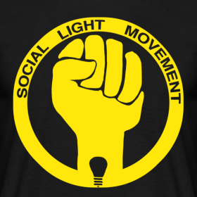 Design ~ SOCIAL LIGHT MOVEMENT YELLOW (mens classic)