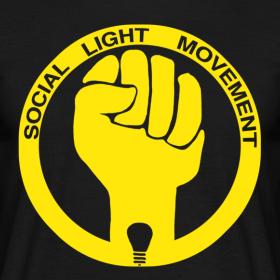 Design ~ SOCIAL LIGHT MOVEMENT YELLOW (mens classic)