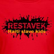 Motiv ~ Frau T-Shirt Restavek Splash 03orange © by kally ART®