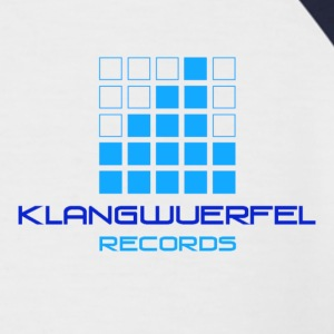Klangwuerfel-Records Logo Shirt - Männer Baseball-T-Shirt