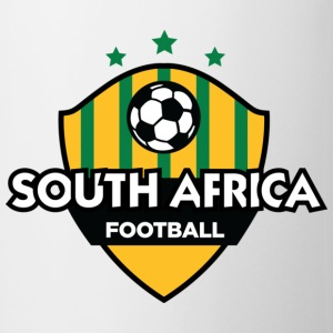 White South Africa Football (DD) Mugs  - Mug