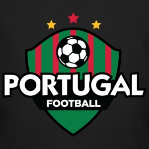 Black Portugal Football (DD) Men's T-Shirts - Men's Organic T-shirt