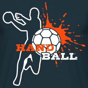 HANDBALL Spieler-Splash T-Shirts - Men's T-Shirt