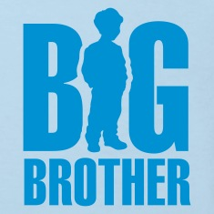 Light blue Big Brother Kids' Shirts