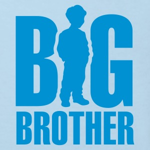 Light blue Big Brother Kids' Shirts - Kids' Organic T-shirt