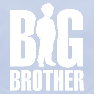Sky blue Big Brother Accessories - Baby Organic Bib