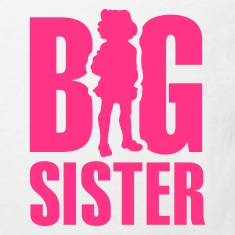 White Big Sister Kids' Shirts