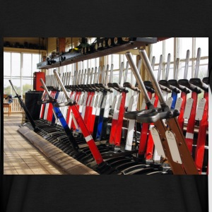 Black LNWR Signal Box Levers Men's T-Shirts - Men's T-Shirt