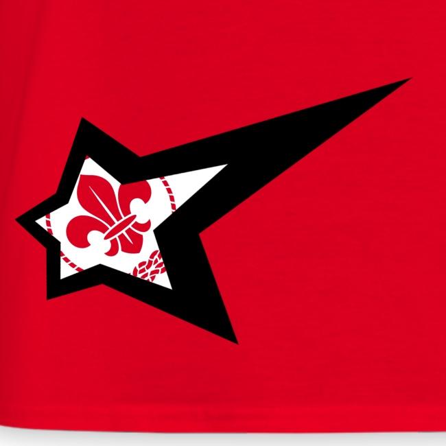 'Star De Lis' Tee
