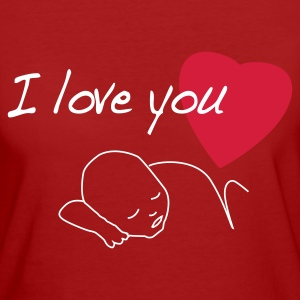 I love you, bébé, amour, tendresse - T-shirt Bio Femme