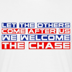 White the_chase Men's T-Shirts - Men's T-Shirt
