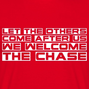 Red the_chase Men's T-Shirts - Men's T-Shirt