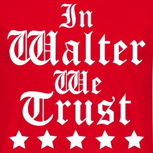 Red Walter Men's T-Shirts - Men's T-Shirt