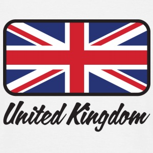 Blanc Flag UK (DD) T-shirts - T-shirt Homme