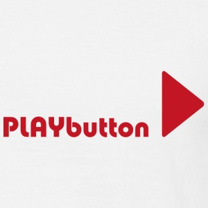 PLAYbutton - Männer T-Shirt