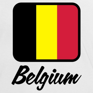 White/red Flag Belgium 1 (3c) Women's T-Shirts - Women's Ringer T-Shirt
