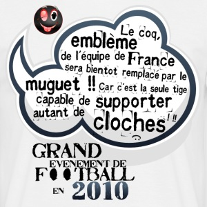 Blanc Grand évènement de Football 2010 T-shirts - T-shirt Homme