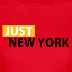 Red Just New York Women's T-Shirts