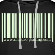 Design ~ glow in the dark barcode